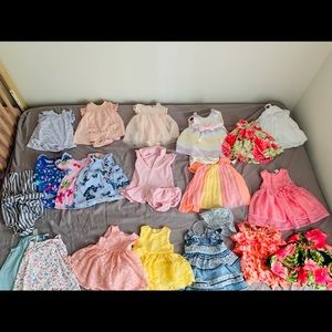 18 dresses 2 rompers